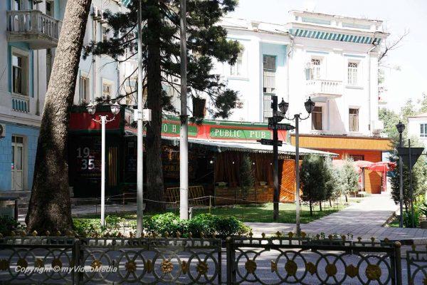 Pub in Dushanbe