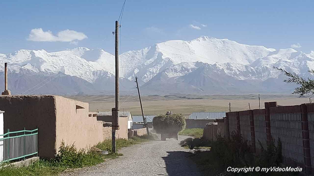 Kyzylart Pass nach Sary-Mogul