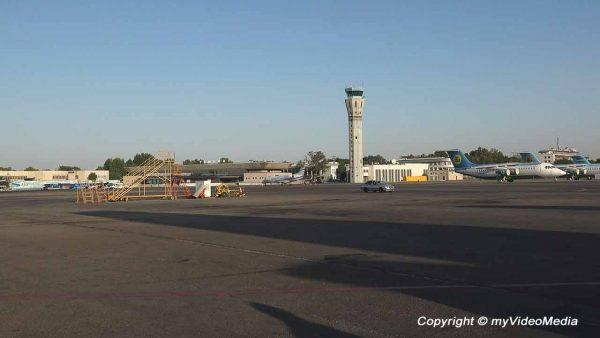 Ankunft in Taschkent