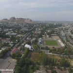 Bird's Eye View of Osh