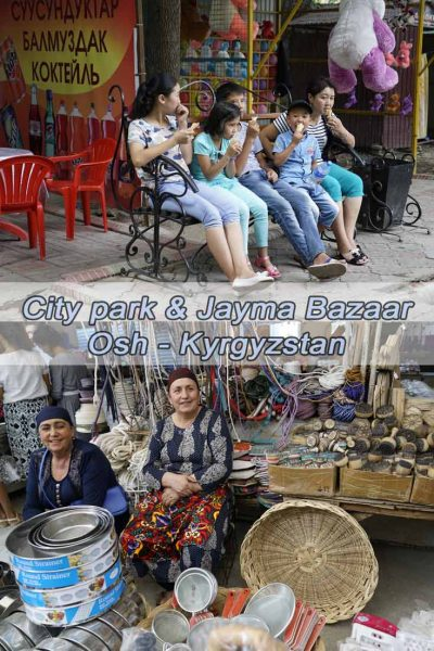 our in City Park and Jayma Bazaar
