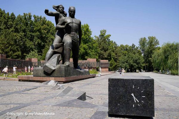 Earthquake Monument Tashkent