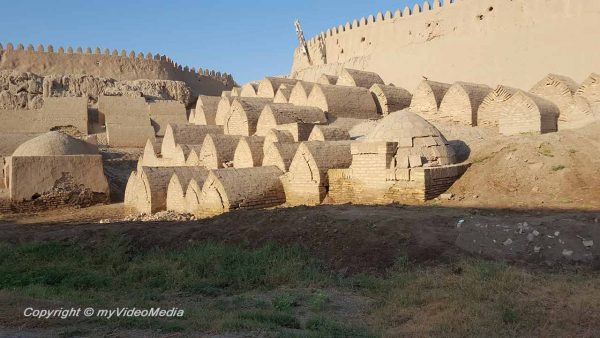 City walls Khiva