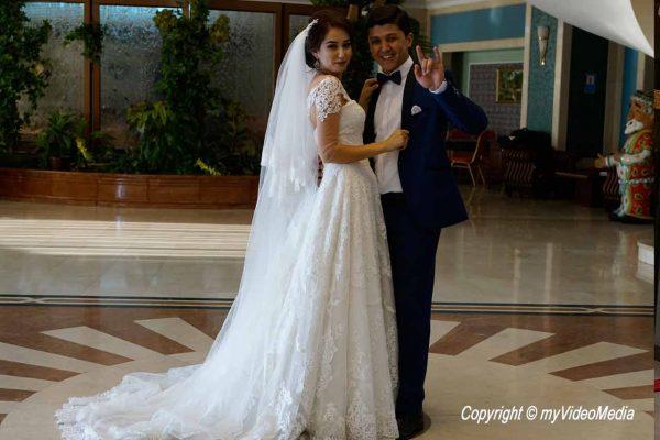 bridal couple Tashkent