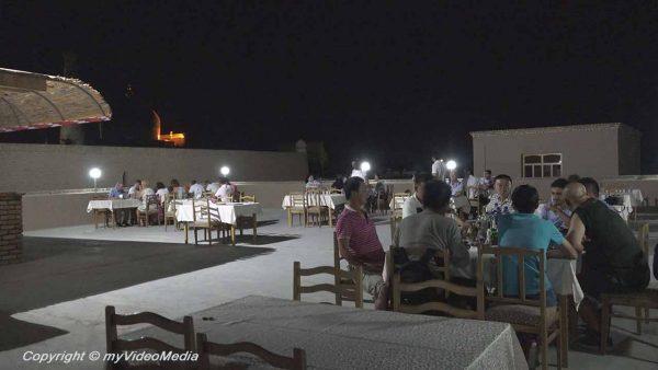 Roof top Mirza Boshi Khiva