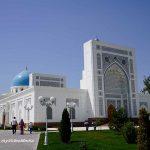 Altstadt, Moscheen und Erdbeben Denkmal in Taschkent