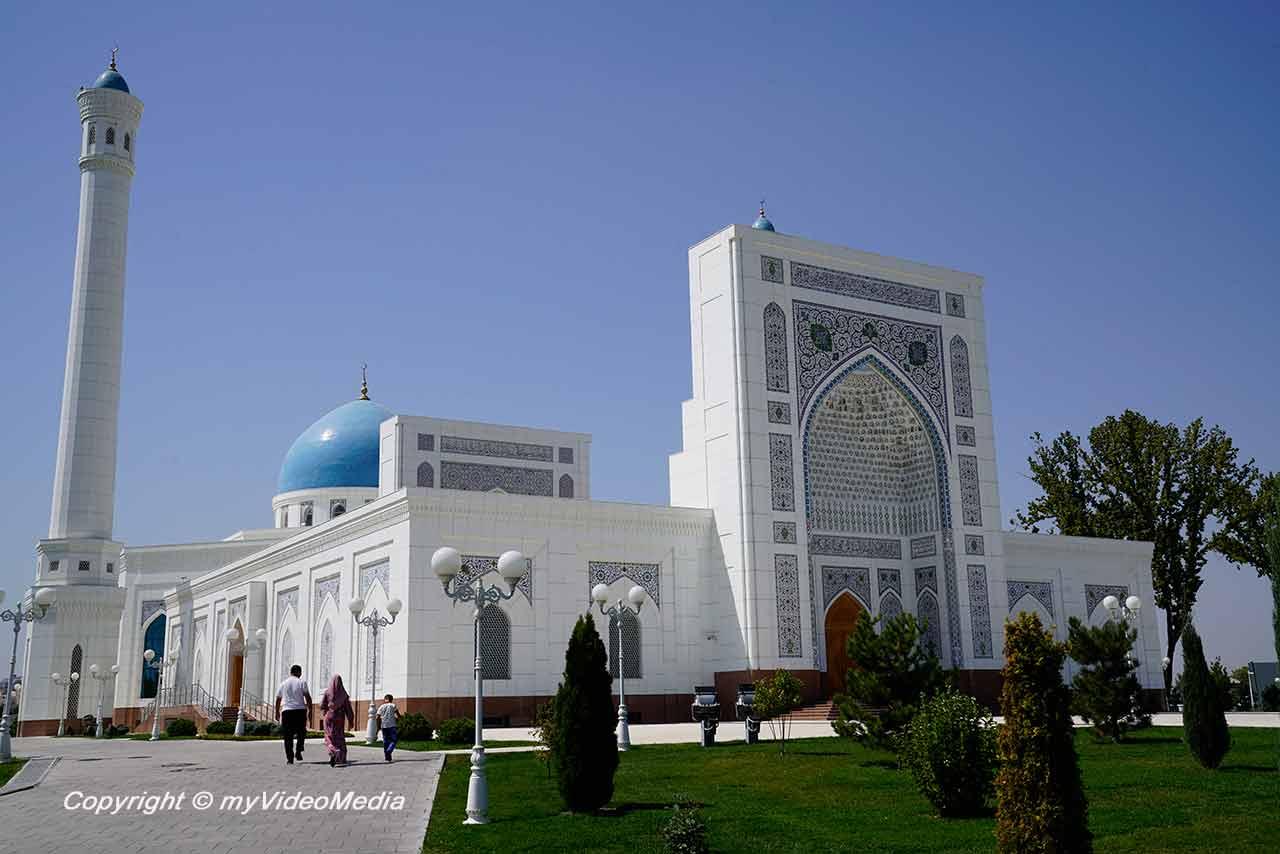 White Mosque Tashkent