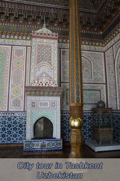 Museum, Bazaar, Theater and Roofbar in Tashkent