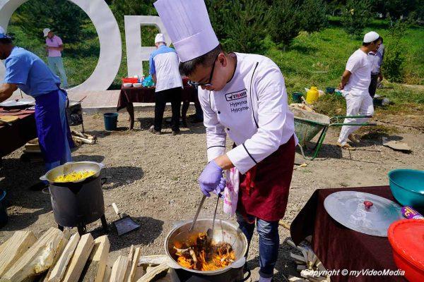 Plov contest in Osh