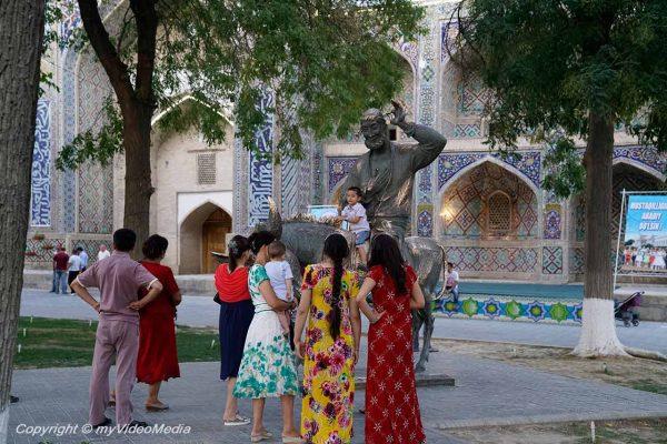 Hodscha Nasreddin Statue