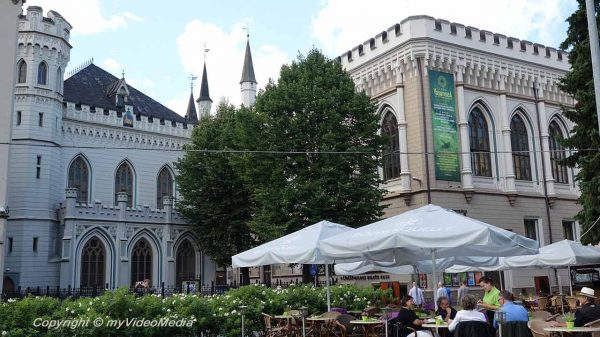 City walk in Riga