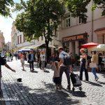 Stadtspaziergang in Vilnius