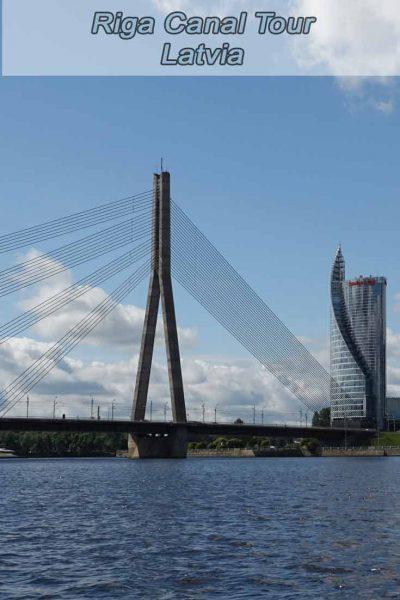Riga canal tour