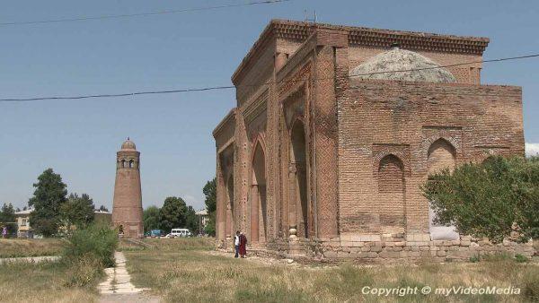 Mausoleum Uzgen Kyrgyzstan