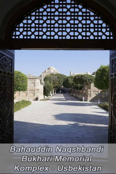 Bahauddin Naqshbandi Bukhari Mausoleum