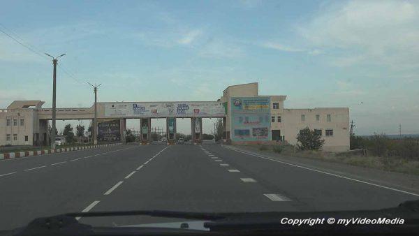 Transit zone Kirgisistan
