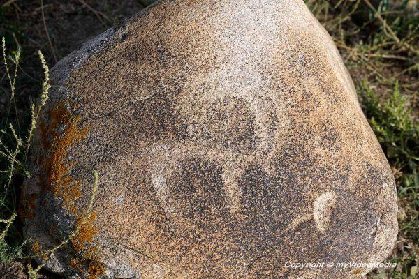 Burana Tower Petroglyph