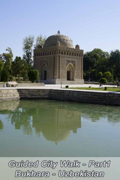 Guided city walk in bukhara-Part1
