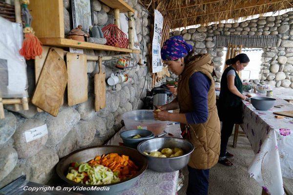 Kitchen Bel-Tam Yurt Camp