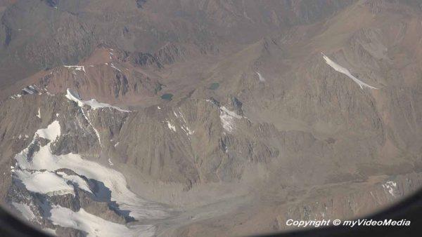 Mountain range in Kyrgyzstan