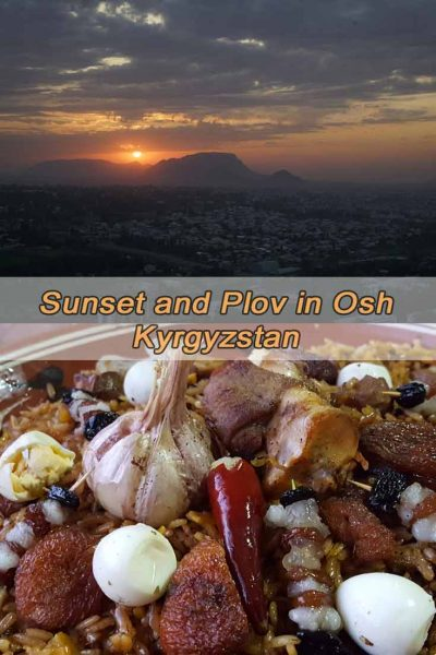 Sunset and Plov