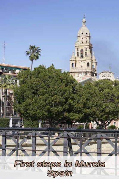 First steps in Murcia