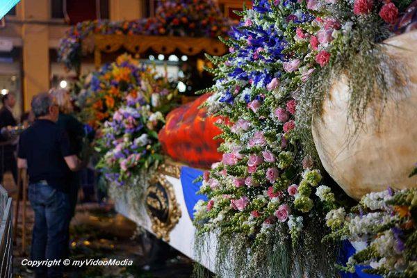 decorated cart Murcia