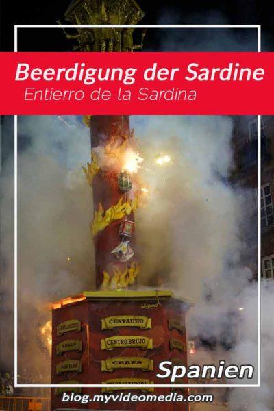 Beerdigung der Sardine