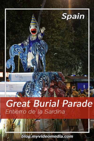 Great Burial Parade of Sardine in Murcia