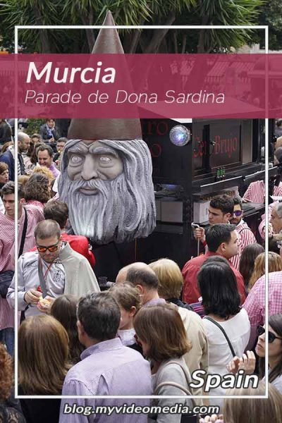 Parade - Dona Sardina in Murcia