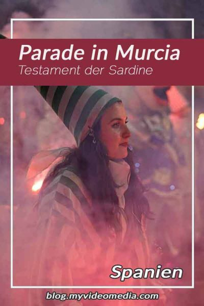 Testament der Sardine in Murcia