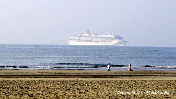 Beach of Marina di Venezia