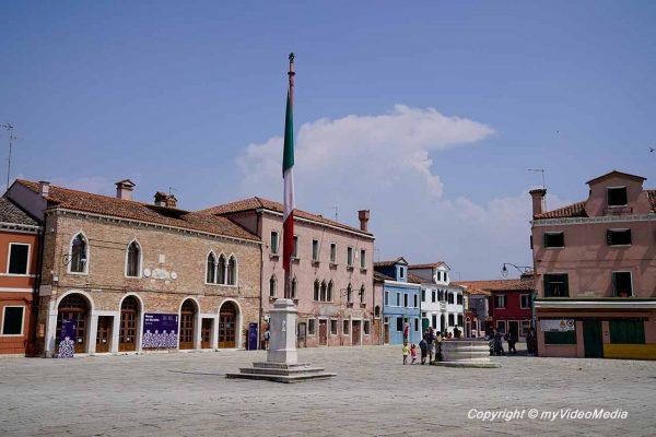 Piazza Baldassare Galuppi Burano