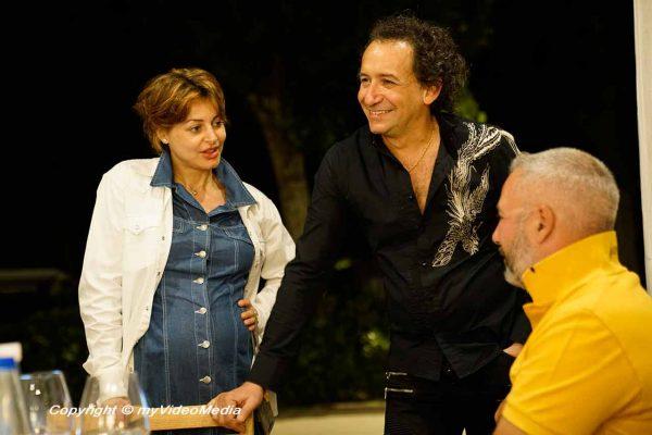 Erix Logan mit sdeiner Frau Sara Maya