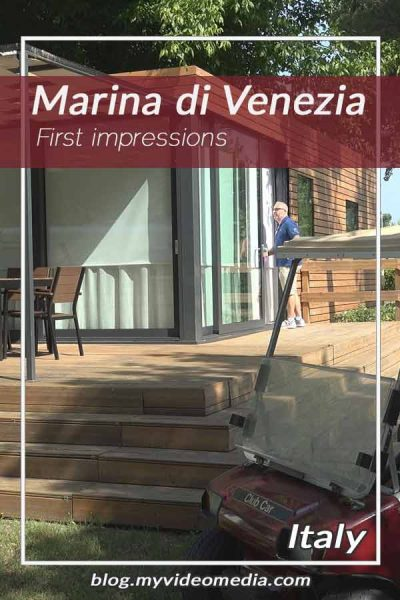 First impressions in Marina di Venezia