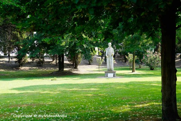 Garden of San Francesco del Deserto