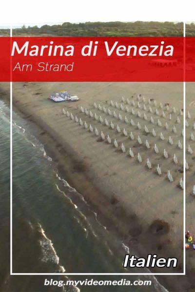 Am Strand von Marina di Venezia