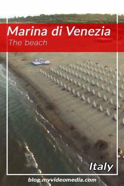 At the Beach of Marina di Venezia