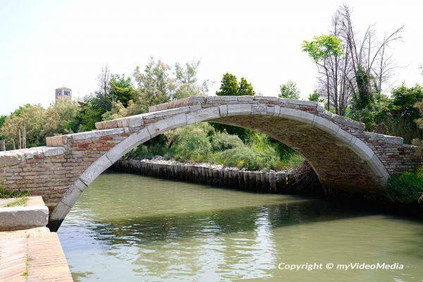 Teufelsbrücke in Torcello