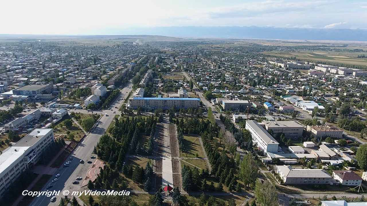 Birds Eye view Karakol