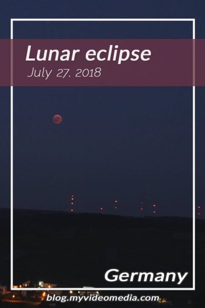 Lunar Eclipse with Blood moon