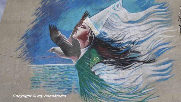 Street art Karakol