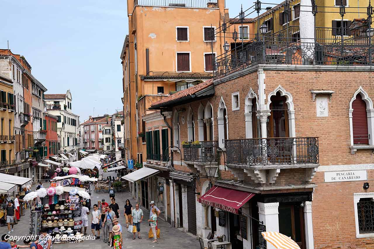 Strada Nova in Venedig