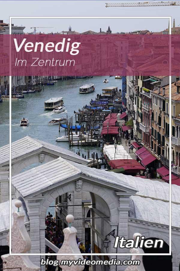 Im Zentrum von Venedig