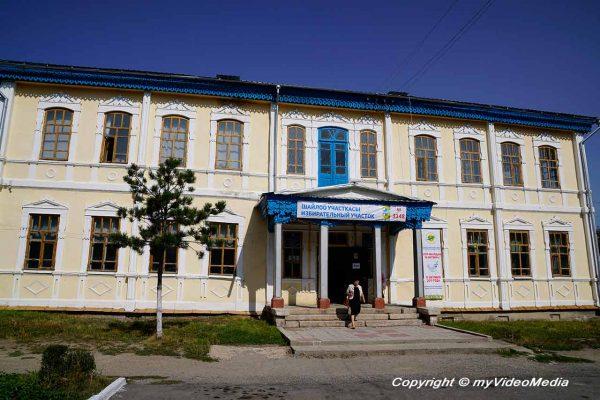 former Soviet dance hall