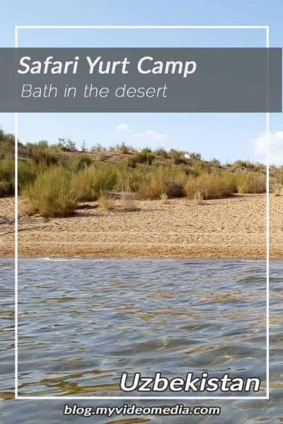 Bath in the desert