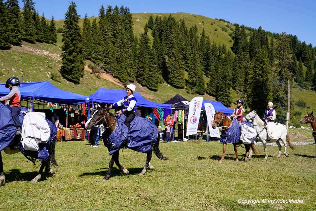 Summer Festival in Jyrgalan