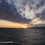 Sunset cruise on the Issyk-Kul