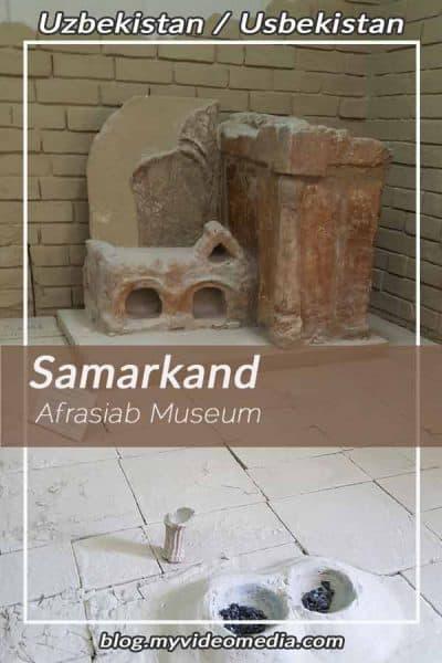 Afrasiab Museum von Samarkand