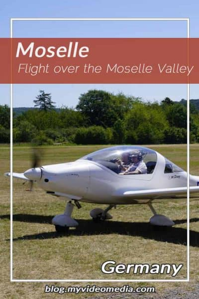 Flight over the Moselle valley